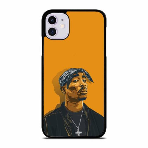 2PAC TUPAC SHAKUR HIP HOP RAP iPhone 11 Case