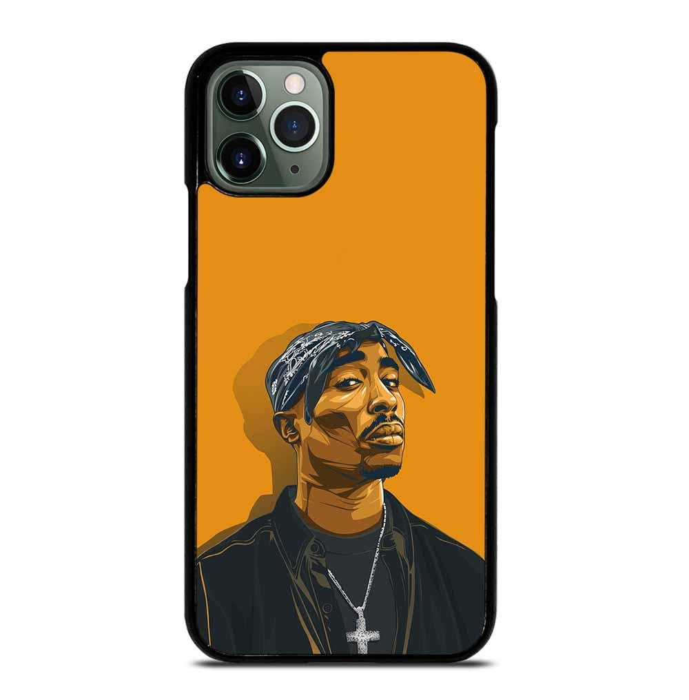 2PAC TUPAC SHAKUR HIP HOP RAP iPhone 11 Pro Max Case
