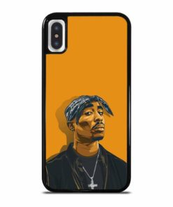 2PAC TUPAC SHAKUR HIP HOP RAP iPhone X / XS Case Cover