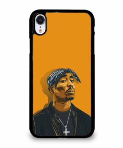 2PAC TUPAC SHAKUR HIP HOP RAP iPhone XR Case