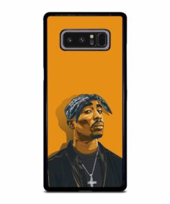 2PAC TUPAC SHAKUR HIP HOP RAP Samsung Galaxy Note 8 Case