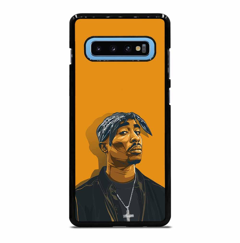 2PAC TUPAC SHAKUR HIP HOP RAP Samsung Galaxy S10 Plus Case