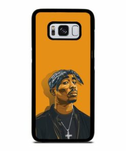 2PAC TUPAC SHAKUR HIP HOP RAP Samsung Galaxy S8 Case Cover
