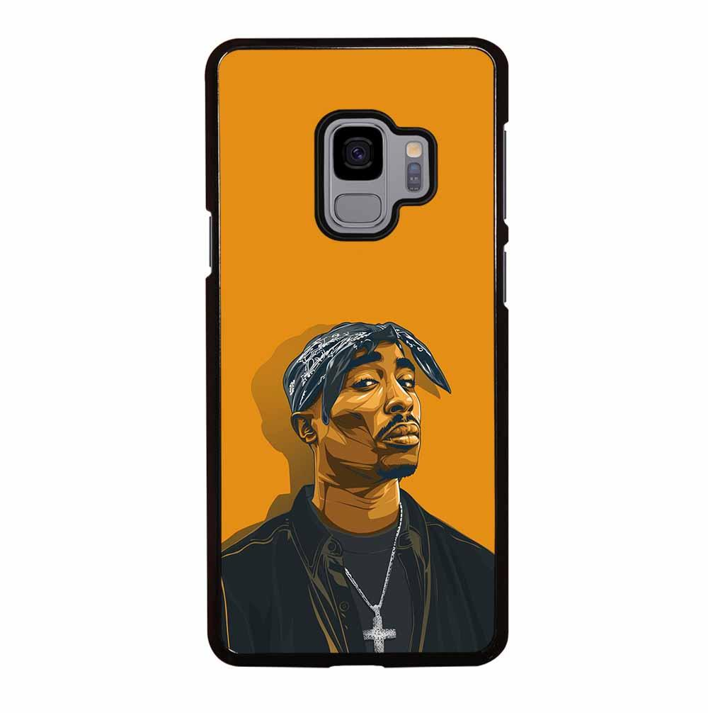 2PAC TUPAC SHAKUR HIP HOP RAP Samsung Galaxy S9 Case Cover