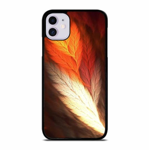 ABSTRACT FEATHERS iPhone 11 Case