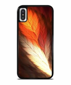 ABSTRACT FEATHERS iPhone X/XS Case