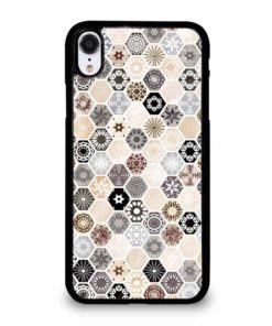 ABSTRACT HONEYCOMB PATTERN iPhone XR Case