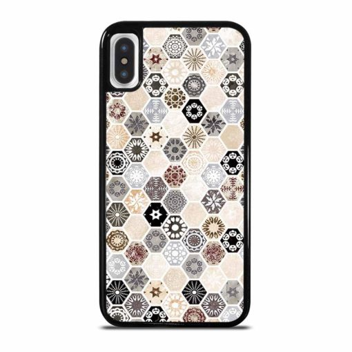 ABSTRACT HONEYCOMB PATTERN iPhone X/XS Case