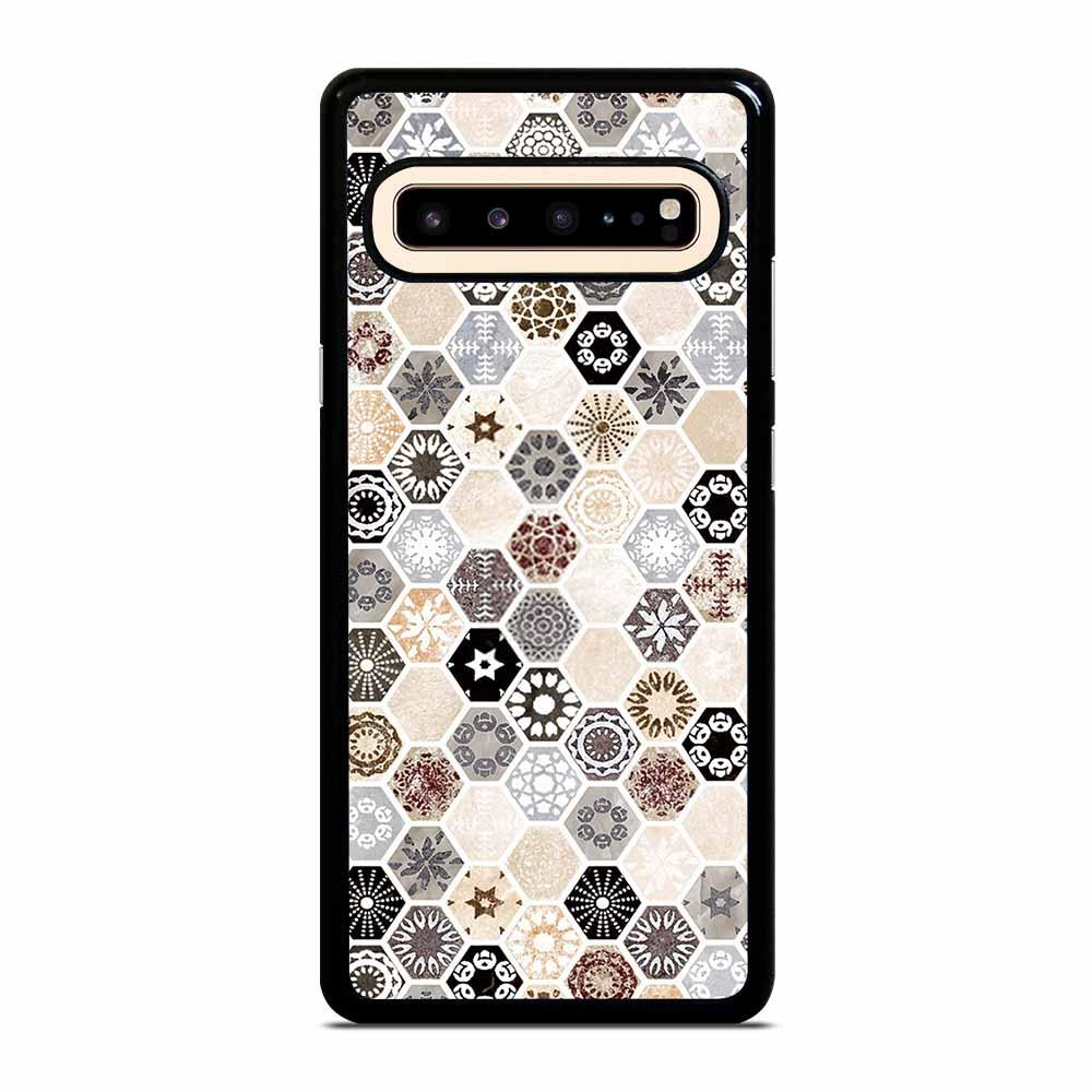 ABSTRACT HONEYCOMB PATTERN Samsung Galaxy S10 5G Case