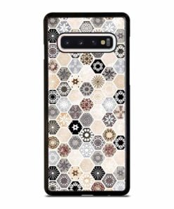 ABSTRACT HONEYCOMB PATTERN Samsung Galaxy S10 Case