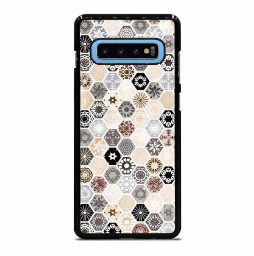ABSTRACT HONEYCOMB PATTERN Samsung Galaxy S10 Plus Case