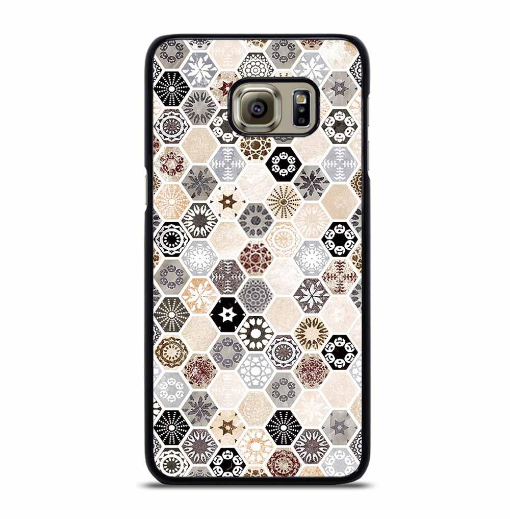 ABSTRACT HONEYCOMB PATTERN Samsung Galaxy S6 Edge Plus Case