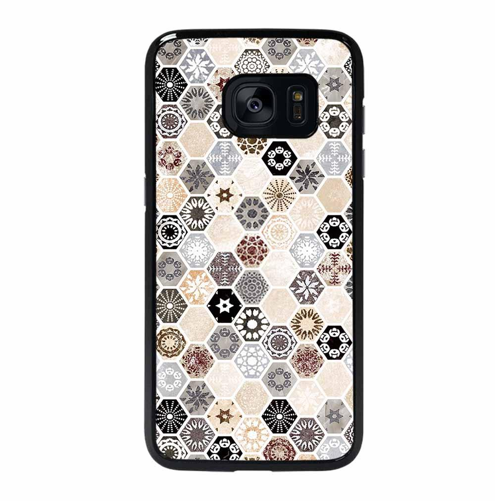 ABSTRACT HONEYCOMB PATTERN Samsung Galaxy S7 Edge Case