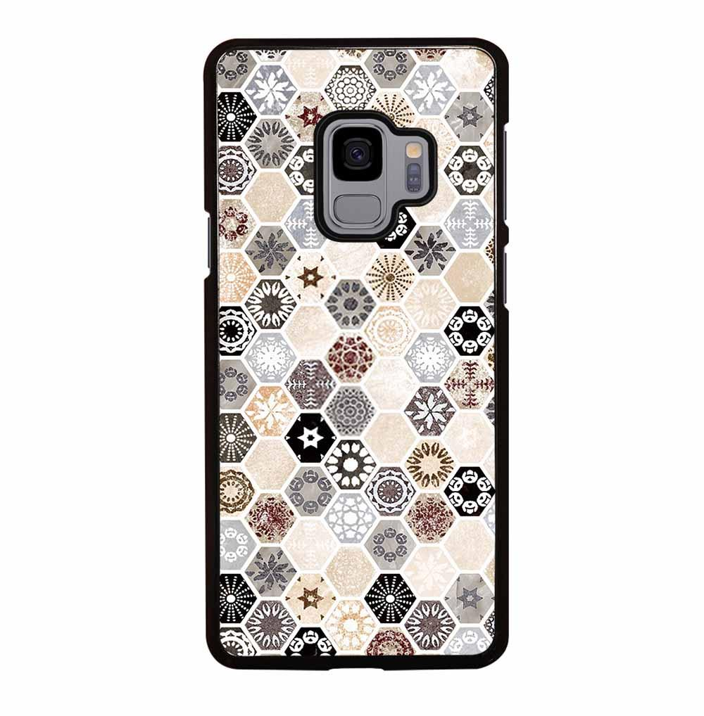 ABSTRACT HONEYCOMB PATTERN Samsung Galaxy S9 Case
