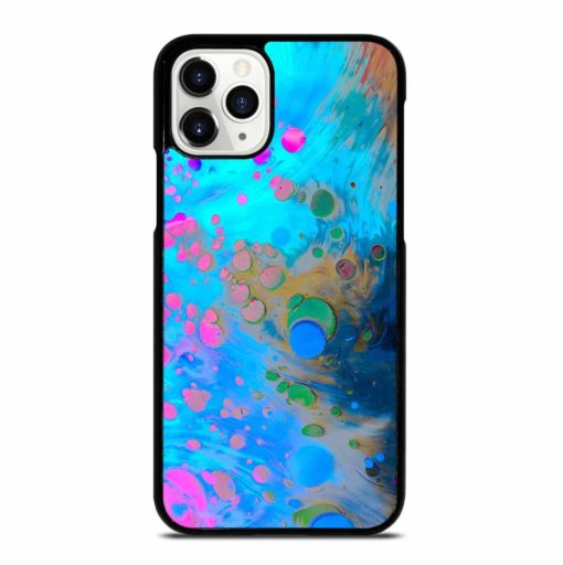 ABSTRACT MARBLING ART PATTERNS AS COLORFUL iPhone 11 Pro Case
