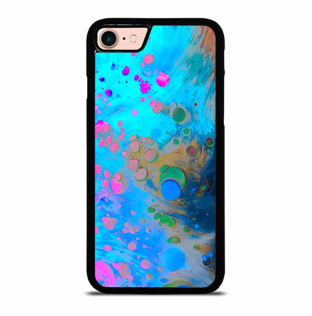 ABSTRACT MARBLING ART PATTERNS AS COLORFUL iPhone 7 / 8 Case Cover