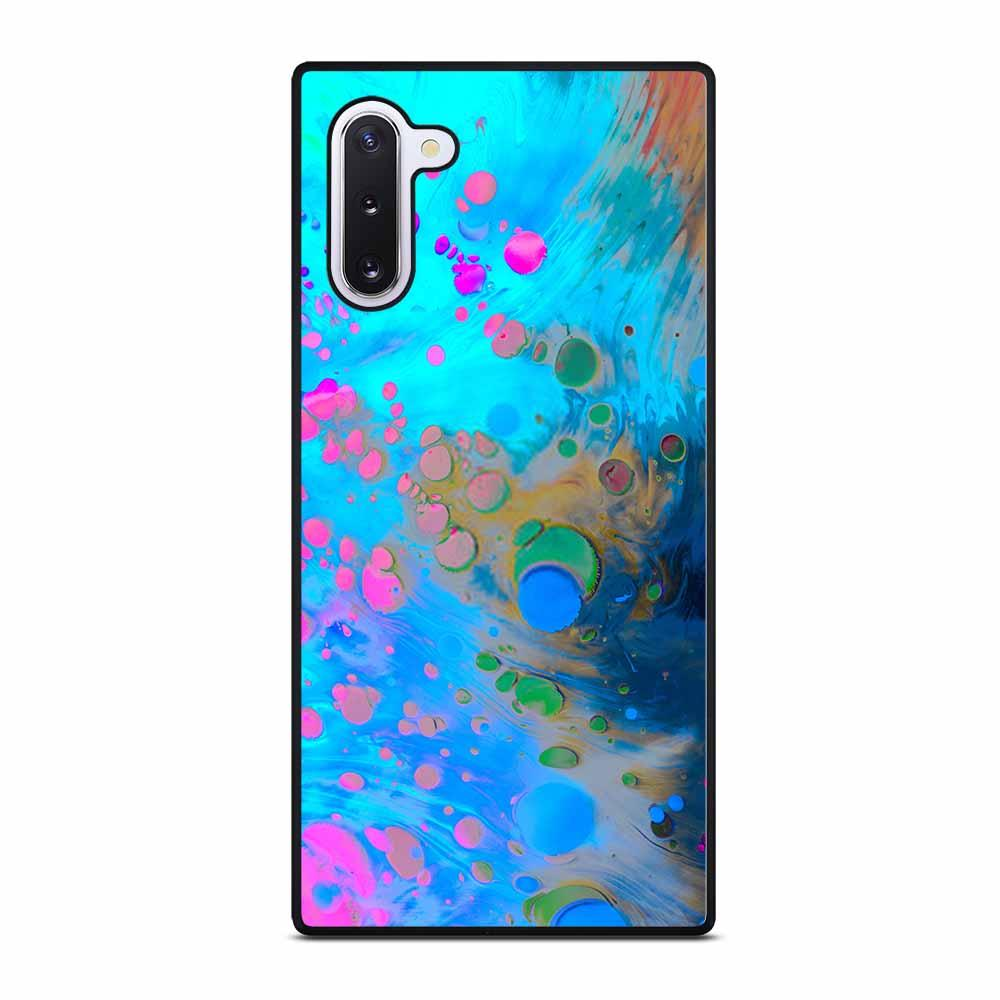 ABSTRACT MARBLING ART PATTERNS AS COLORFUL Samsung Galaxy Note 10 Case