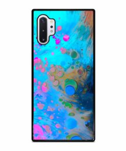 ABSTRACT MARBLING ART PATTERNS AS COLORFUL Samsung Galaxy Note 10 Plus Case