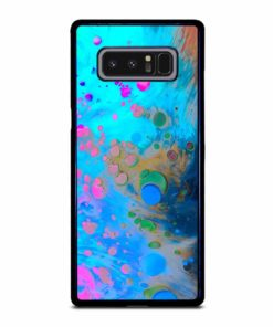 ABSTRACT MARBLING ART PATTERNS AS COLORFUL Samsung Galaxy Note 8 Case