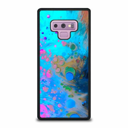 ABSTRACT MARBLING ART PATTERNS AS COLORFUL Samsung Galaxy Note 9 Case