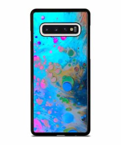 ABSTRACT MARBLING ART PATTERNS AS COLORFUL Samsung Galaxy S10 Case Cover