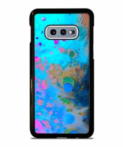 ABSTRACT MARBLING ART PATTERNS AS COLORFUL Samsung Galaxy S10e Case