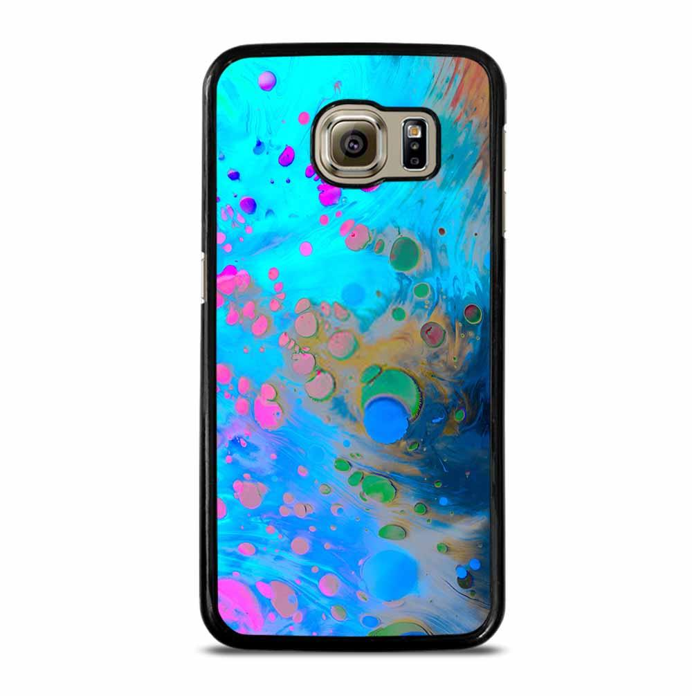 ABSTRACT MARBLING ART PATTERNS AS COLORFUL Samsung Galaxy S6 Case