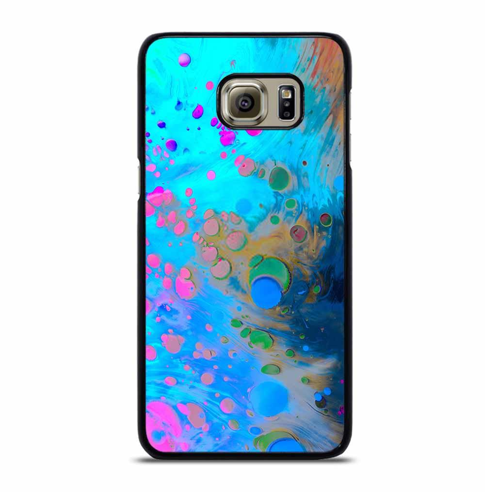 ABSTRACT MARBLING ART PATTERNS AS COLORFUL Samsung Galaxy S6 Edge Plus Case