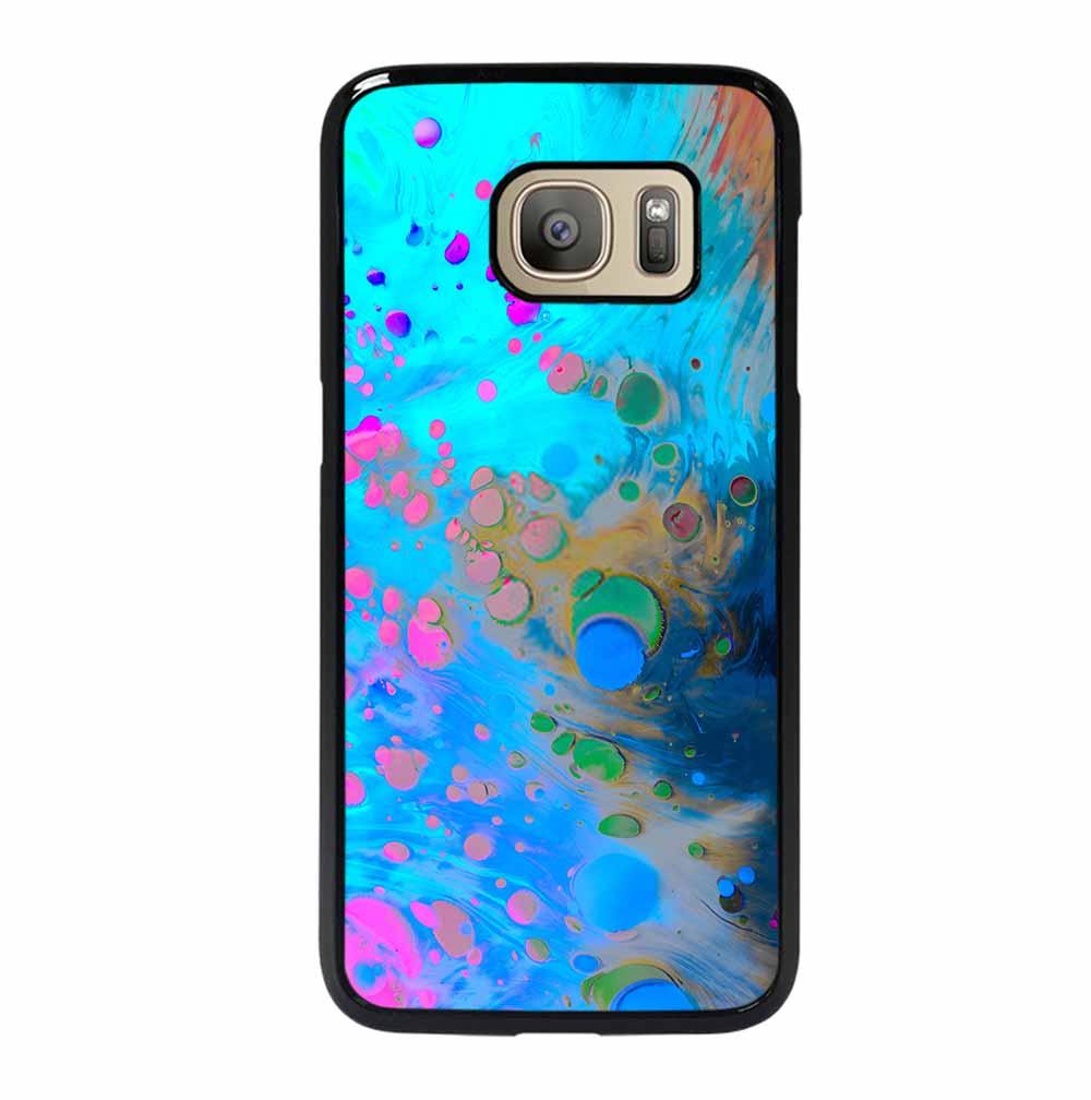 ABSTRACT MARBLING ART PATTERNS AS COLORFUL Samsung Galaxy S7 Case
