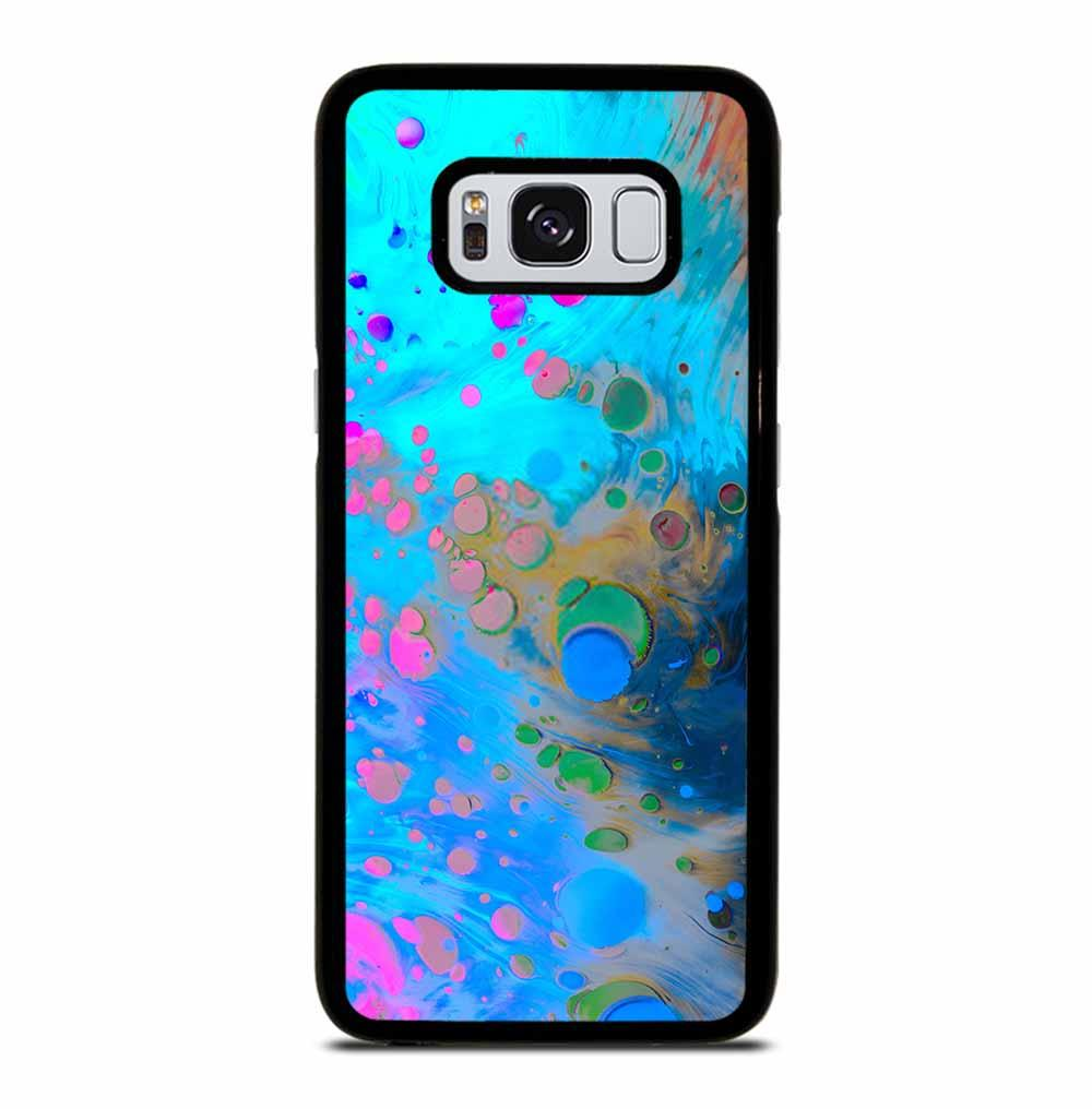 ABSTRACT MARBLING ART PATTERNS AS COLORFUL Samsung Galaxy S8 Case