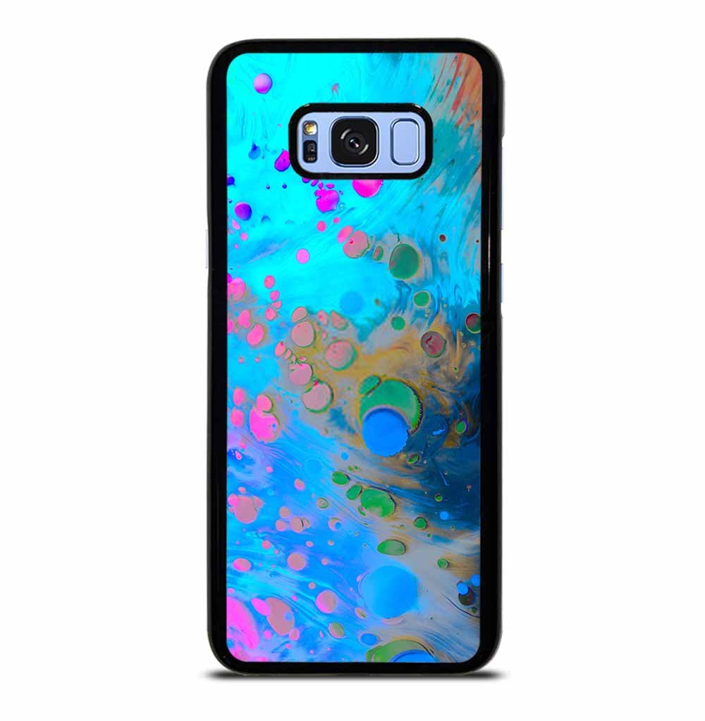ABSTRACT MARBLING ART PATTERNS AS COLORFUL Samsung Galaxy S8 Plus Case