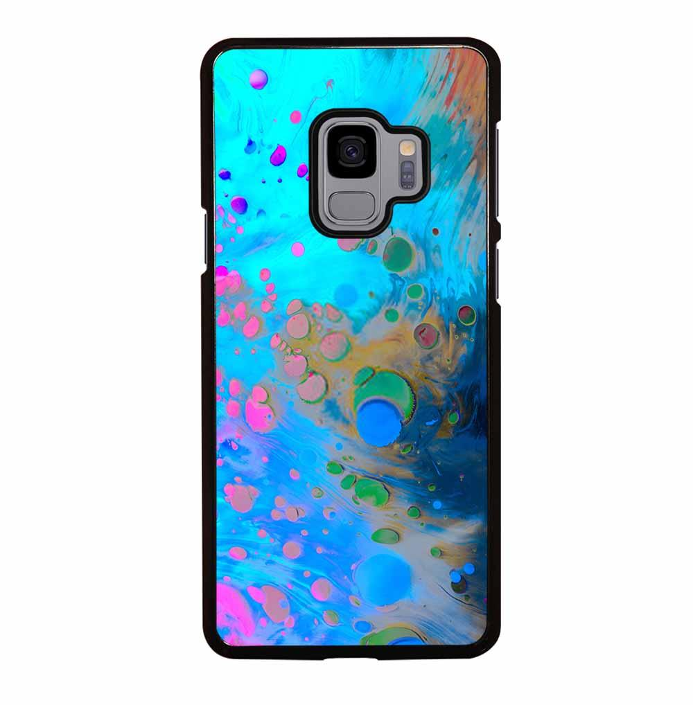 ABSTRACT MARBLING ART PATTERNS AS COLORFUL Samsung Galaxy S9 Case