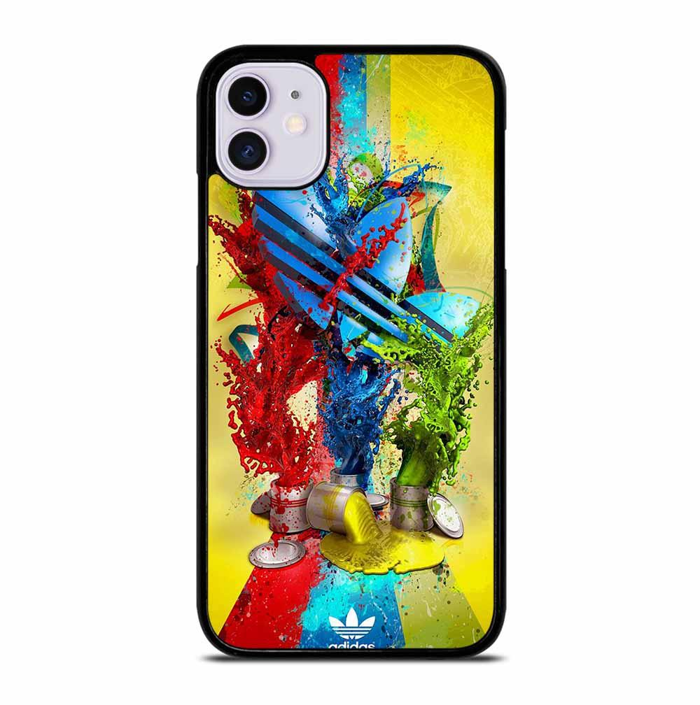 ADIDAS PAINT LOGO iPhone 11 Case
