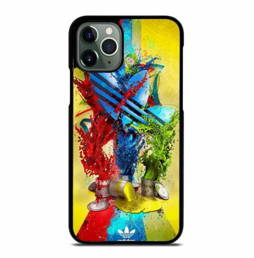 ADIDAS PAINT LOGO iPhone 11 Pro Max Case