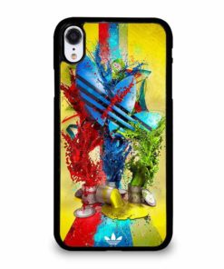 ADIDAS PAINT LOGO iPhone XR Case