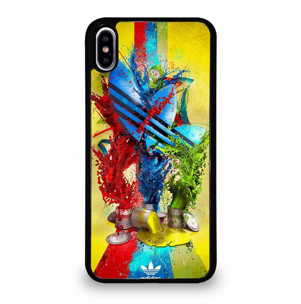 ADIDAS PAINT LOGO iPhone XS Max Case