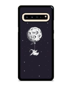 ADVENTURE OF ASTRONAUT ON SPACE Samsung Galaxy S10 5G Case