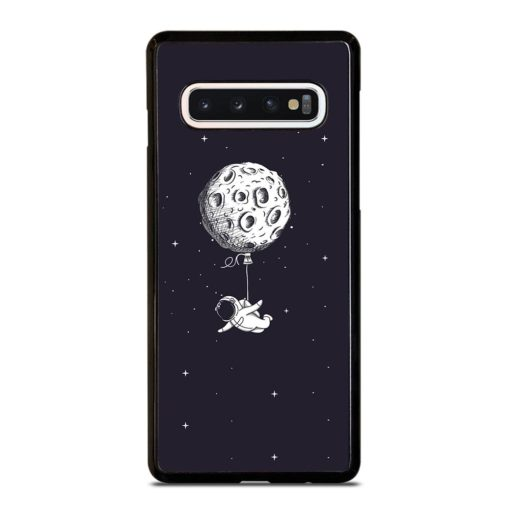 ADVENTURE OF ASTRONAUT ON SPACE Samsung Galaxy S10 Case Cover