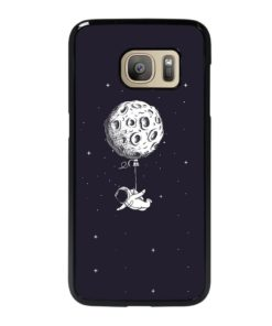 ADVENTURE OF ASTRONAUT ON SPACE Samsung Galaxy S7 Case