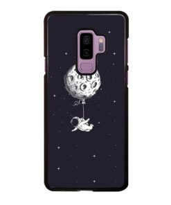 ADVENTURE OF ASTRONAUT ON SPACE Samsung Galaxy S9 Plus Case