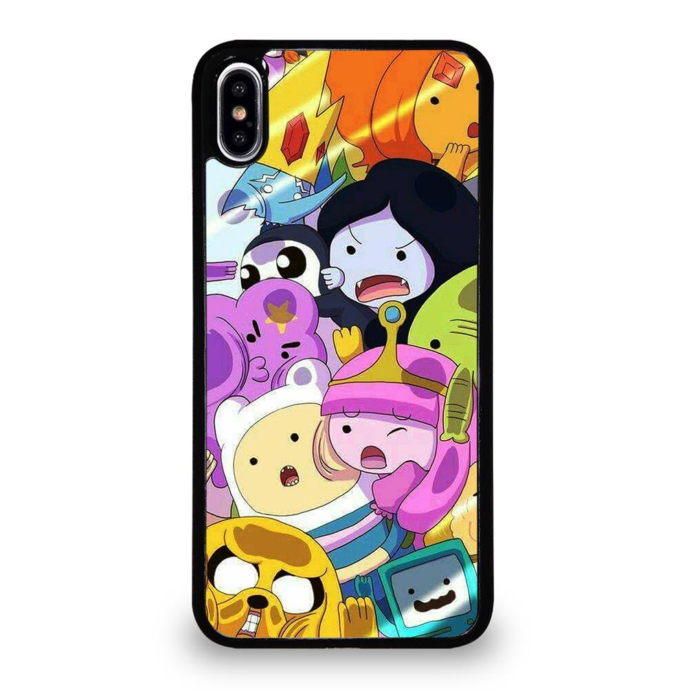 ADVENTURE TIME CARTOON iPhone XS Max Case