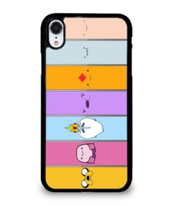 ADVENTURE TIME CHARACTERS iPhone XR Case
