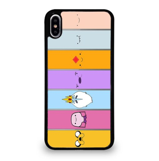 ADVENTURE TIME CHARACTERS iPhone XS Max Case