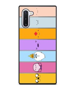 ADVENTURE TIME CHARACTERS Samsung Galaxy Note 10 Case