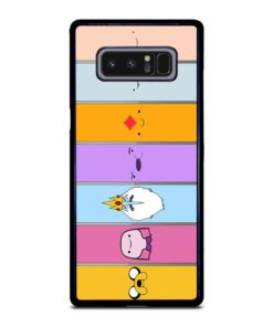 ADVENTURE TIME CHARACTERS Samsung Galaxy Note 8 Case
