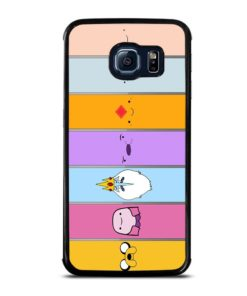 ADVENTURE TIME CHARACTERS Samsung Galaxy S6 Edge Case