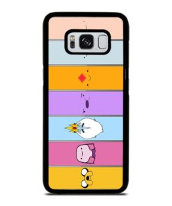 ADVENTURE TIME CHARACTERS Samsung Galaxy S8 Case Cover