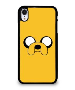 ADVENTURE TIME JAKE FACE iPhone XR Case