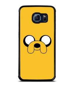 ADVENTURE TIME JAKE FACE Samsung Galaxy S6 Edge Case Cover
