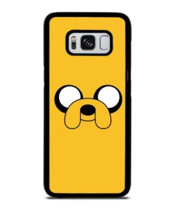 ADVENTURE TIME JAKE FACE Samsung Galaxy S8 Case Cover